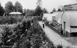 Pell Wall Hall, Kitchen Garden 1911, Pell Wall