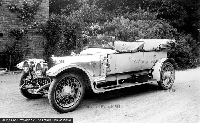 Photo of Pell Wall Hall, Rolls Royce Silver Ghost 1911