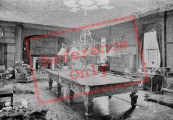 Pell Wall Hall, The Billiard Room 1911, Pell Wall