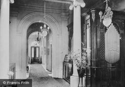 Pell Wall Hall, The Entrance Hall South 1911, Pell Wall