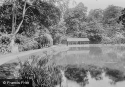Pell Wall Hall, The Lake 1911, Pell Wall