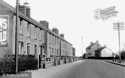 Pembrey, Llando Terrace c.1965