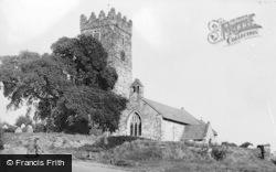 Parish Church c.1965, Pembrey