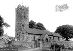Pembrey, St Illtyd's Church 1936