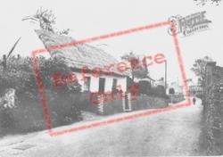 Pembrey, Thatched Cottage In Village c.1955