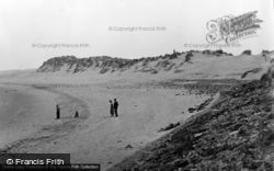 The Beach And Sandhills c.1955, Pembrey