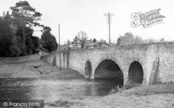Pembridge, The Bridge c.1955