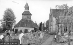 Pembridge, The Church And Belfry c.1955
