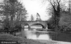 Pembridge, The River Arrow c.1950
