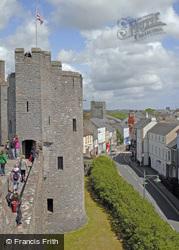 Castle And Town c.2005, Pembroke