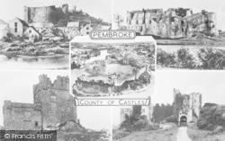 Castle Composite c.1955, Pembroke