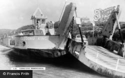 Pembroke Dock, Cleddau King c.1965