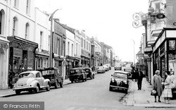 Pembroke Dock, Dimond Street c.1960