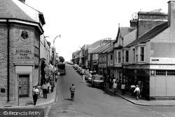 Pembroke Dock, Dimond Street c.1965