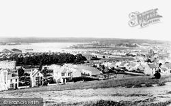 Pembroke Dock, From Barrack Hill 1890