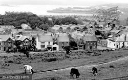 Pembroke Dock, From Barrack Hill c.1960