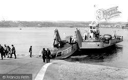 Pembroke Dock, Pembroke Ferry c.1965
