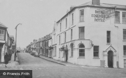 Pembroke Dock, Royal Edinburgh Hotel c.1955