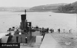 Pembroke Dock, The Ferry c.1955