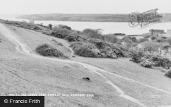 Pembroke Dock, The Haven From Barrack Hill c.1960