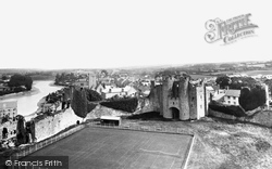 Pembroke, From The Keep 1890