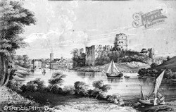 Pembroke, Old Sketch Of The Castle
