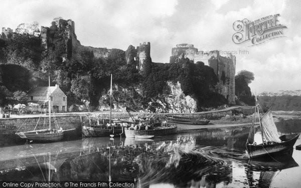 Photo of Pembroke, the Castle 1890