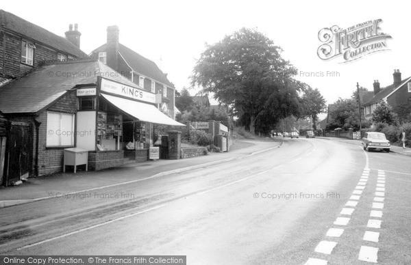 Photo of Pembury, King's Stores c1965