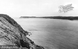 Penally, Caldy Island And Cliffs c.1955