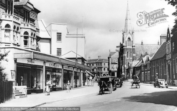 Photo of Penarth, Christchurch, Stanwell Road 1947