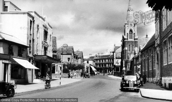 Penarth Stanwell Road C 1950 Francis Frith