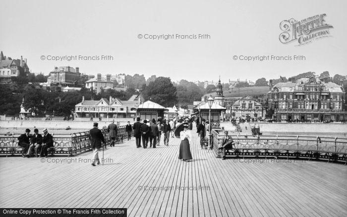 Photo of Penarth, The Pier 1896