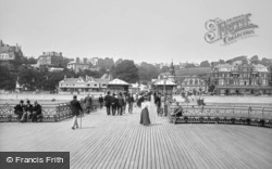 Penarth, the Pier 1896