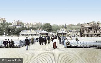 Penarth, the Pier 1896