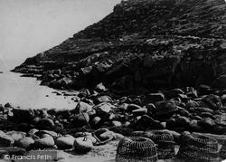 Penberth Cove, c.1864
