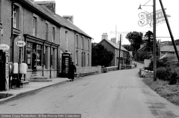 Photo of Pencader, High Street c.1955
