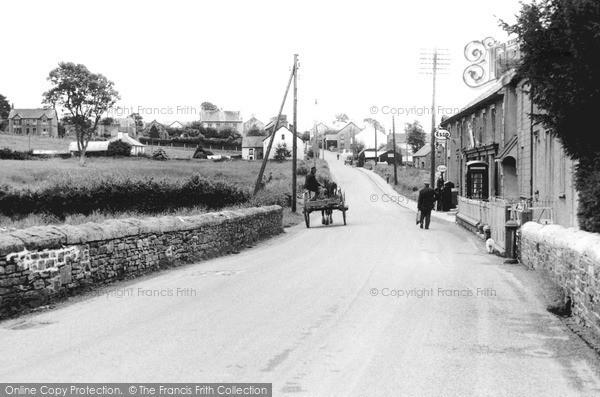 Photo of Pencader, Main Road c.1955