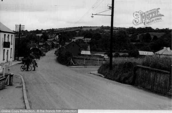 Photo of Pencader, Main Road c.1955