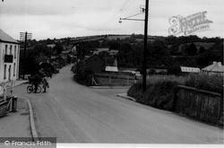 Pencader, Main Road c.1955