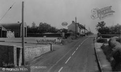 Pencader, Main Road c.1960