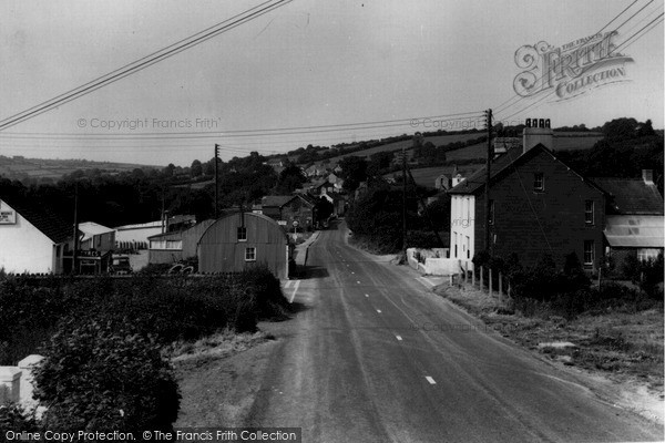 Photo of Pencader, Main Road c1960, ref. P204022
