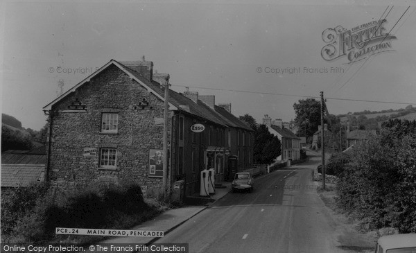 Photo of Pencader, Main Road c1960, ref. P204024