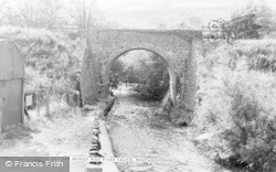 Pencader, The Bridge And River Talog c.1960