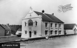 Pencader, The Tabernacle c.1960