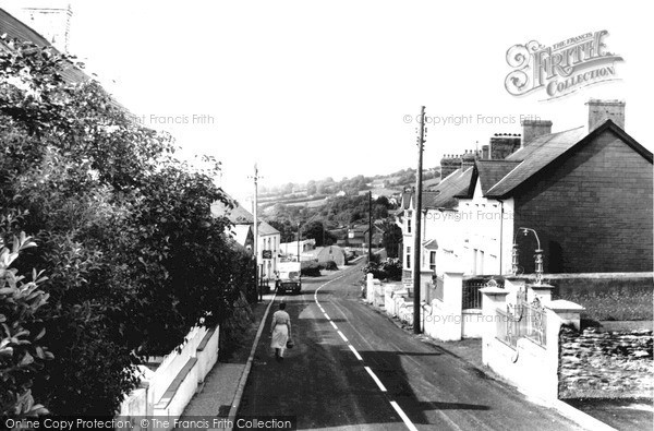 Photo of Pencader, Village c1955, ref. P204019