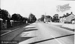 Pencoed, Coychurch Road c.1955