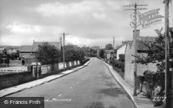 Penprisk Road c.1955, Pencoed