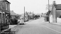Pencoed, Penprisk Road c.1955