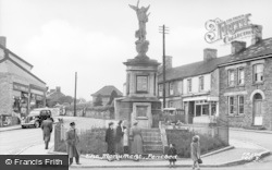 Pencoed, The Monument c.1955