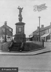 Pencoed, War Memorial 1938